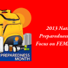 Sept. 26: National Preparedness Month: Focus on FEMA & HHS